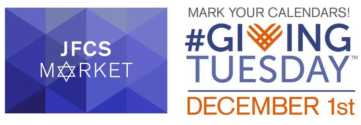 JFCS Market #givingtuesday December 1st